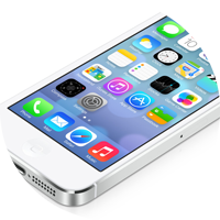 Apple iPhone 5S with iOS 7